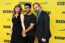 Emily V. Gordon, Kumail Nanjiani, and Judd Apatow // The Big Sick // Photo by Heather Kaplan