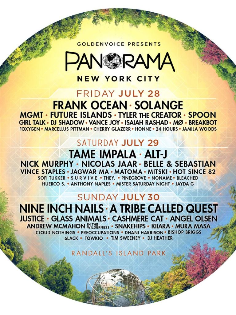 panorama 2017 Panorama 2017s Lineup: One Day Later