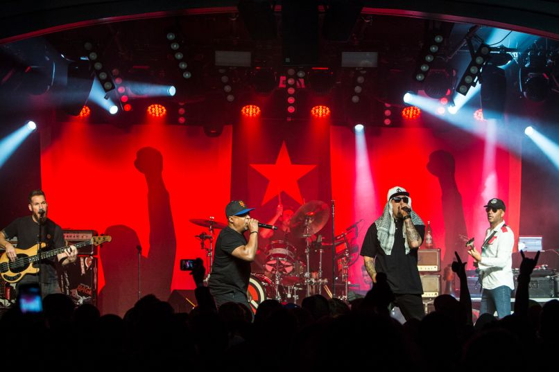 prophets of rage 01 Live Review: Audioslave reunites at Prophet of Rages Anti Inaugural Ball (1/20)