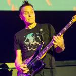 Mark Hoppus, Blink-182, photo by Philip Cosores