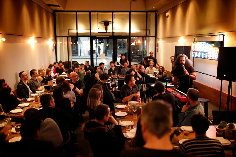 reggie room DTS Spaces Dine in Sound Reinvents the Concept of Dinner Music
