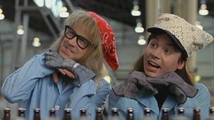 waynes world movie laverne and shirley shotz brewery dana carvey garth wayne mike myers Does Waynes World or Its Sequel Party Harder?