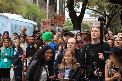 Crowd // Atomic Blonde // Photo by Heather Kaplan