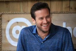 Armie Hammer // Free Fire Panel // Photo by Heather Kaplan