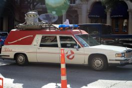 Ghostbusters Ecto-1 // Photo by Heather Kaplan