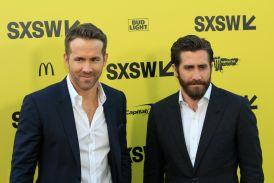 Ryan Reynolds and Jake Gyllenhaal // Life // Photo by Heather Kaplan