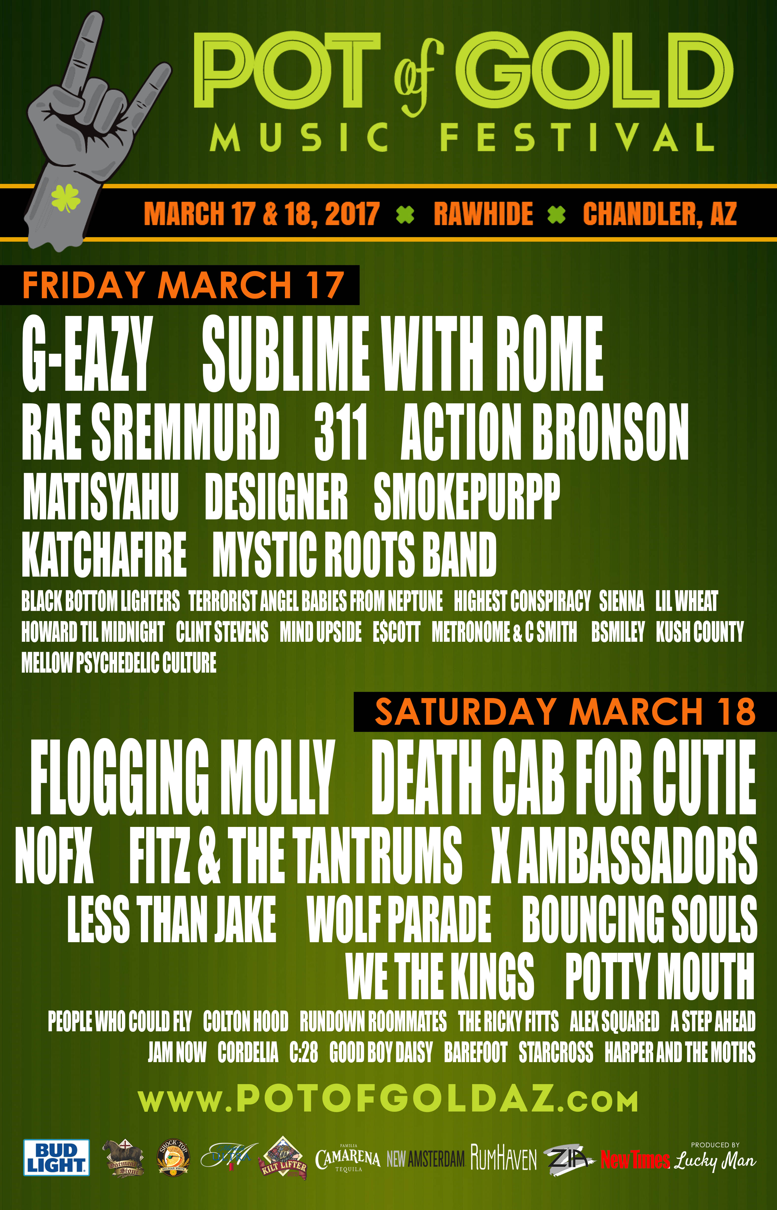 pot of gold 2017 poster 13 Win tickets to Pot of Gold Festival 2017