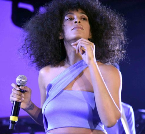 Solange // Photo by Tim Mosenfelder