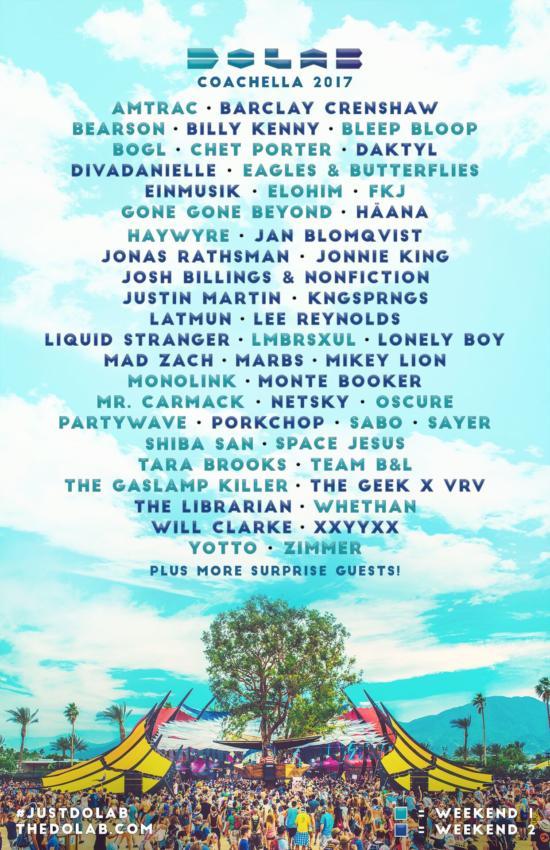 dolab George Clinton, BJ the Chicago Kid, Bone Thugs N Harmony to play Coachellas Heineken House