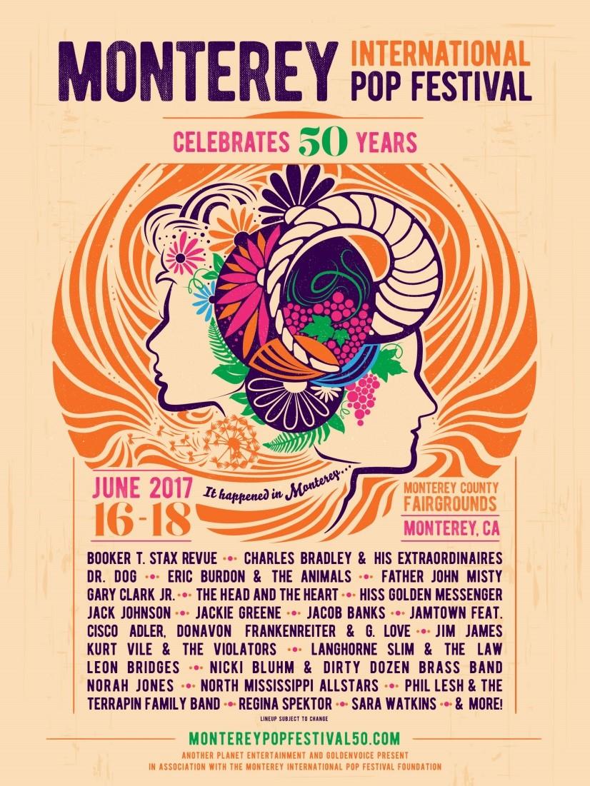 festival admat 4 17 17 Monterey International Pop Festival returns for 50th anniversary event
