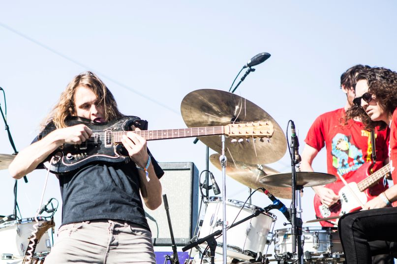 King Gizzard and the Lizard Wizard, photo by Philip Cosores