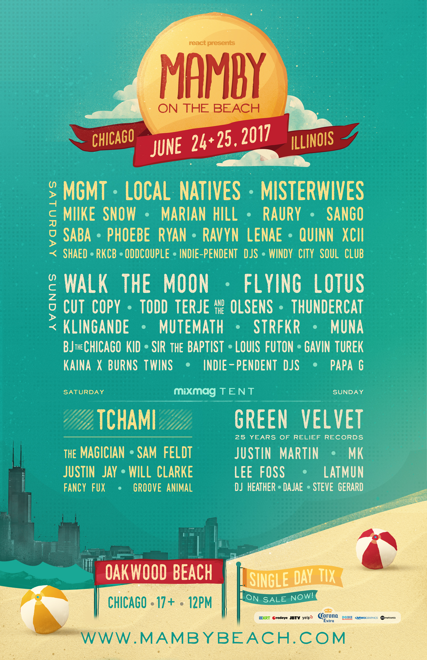mamby flyer 2017 Win tickets to Mamby On The Beach 2017