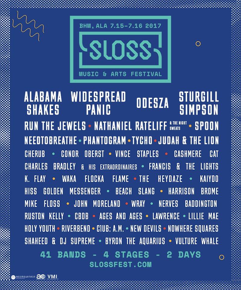 sloss fest 2017 Win tickets to Sloss Music & Arts Festival 2017