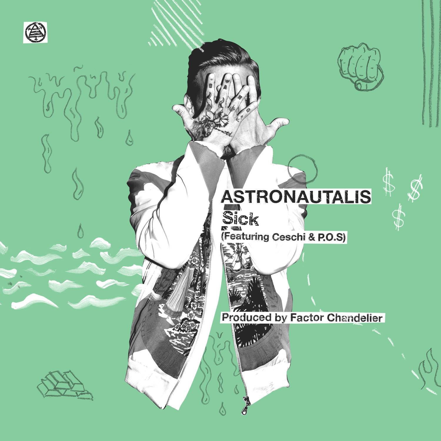 astronautalis sick pos Astronautalis and P.O.S. reunite on new song Sick    listen