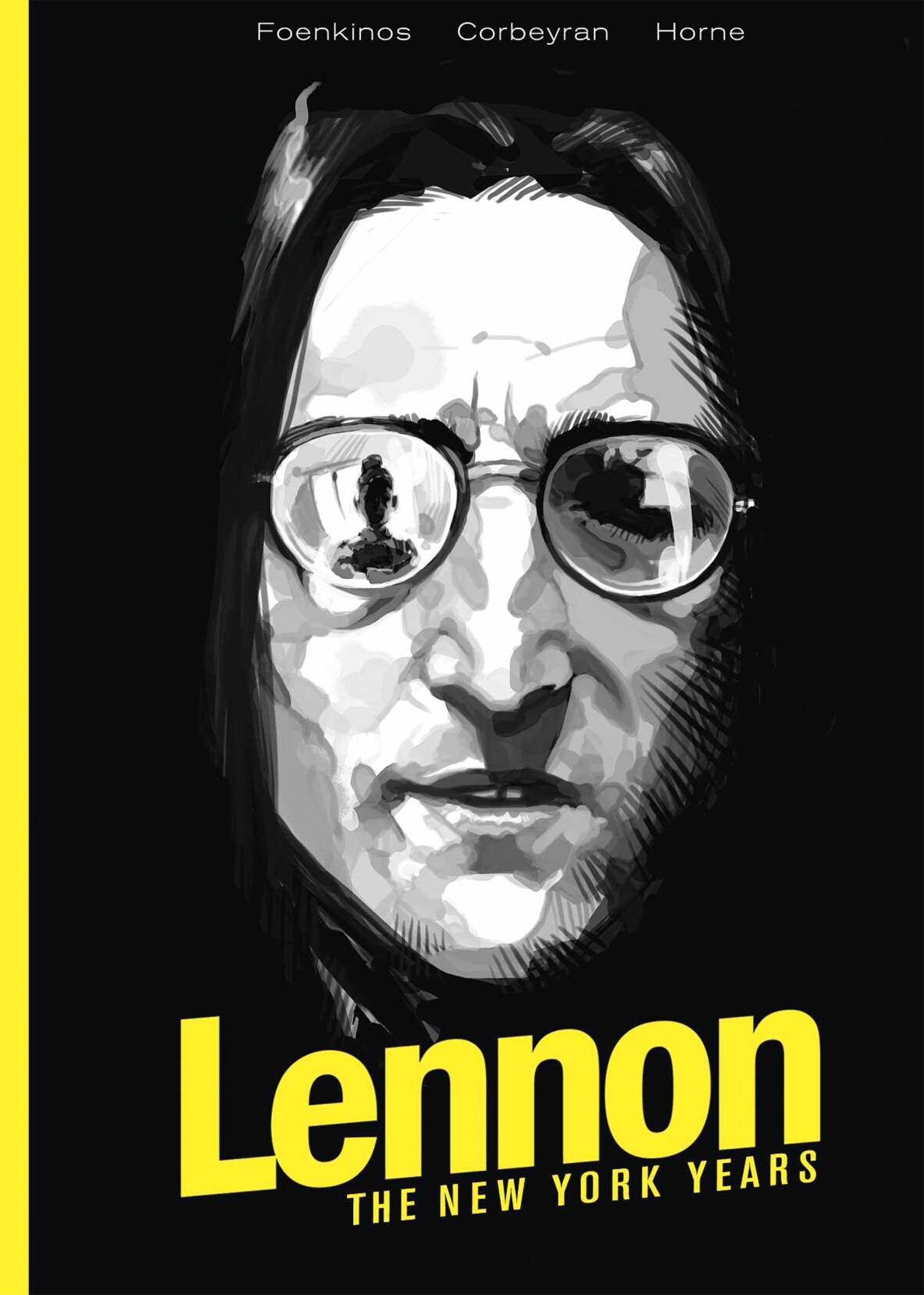 lennon hc cvr prh Graphic novel recounting John Lennons New York years previewed in new trailer    watch