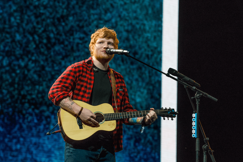 Ed Sheeran // Photo by Nathan Dainty