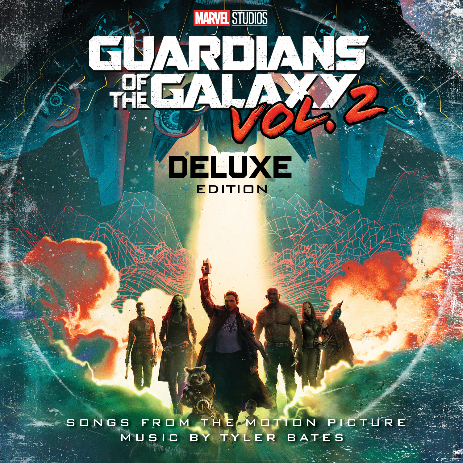gotg2 vinyl cover wide Guardians of the Galaxy Vol. 2 soundtrack coming to vinyl and cassette