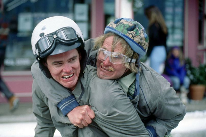 Jeff Daniels and Jim Carrey Dumb and Dumber