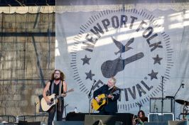 John Prine with Jim James // photo by Ben Kaye