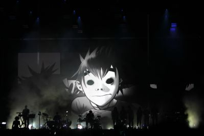 Gorillaz // Photo by Heather Kaplan