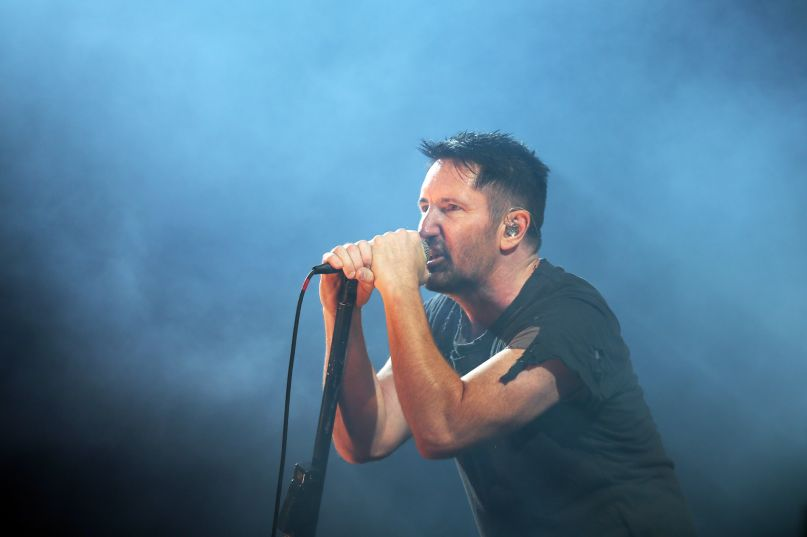 Nine Inch Nails, photo by Killian Young