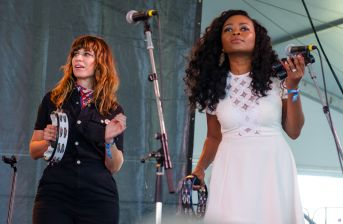 Steelism with Nicole Atkins, Ruby Amanfu // photo by Ben Kaye