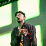 21 Savage, photo by Philip Cosores