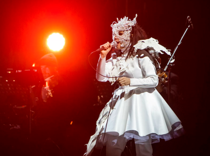 Björk, photo by Philip Cosores