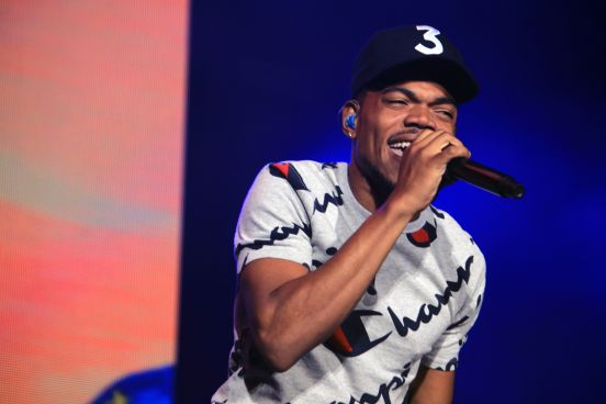 Chance the Rapper, photo by Heather Kaplan