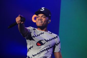 Chance the Rapper // Photo by Heather Kaplan