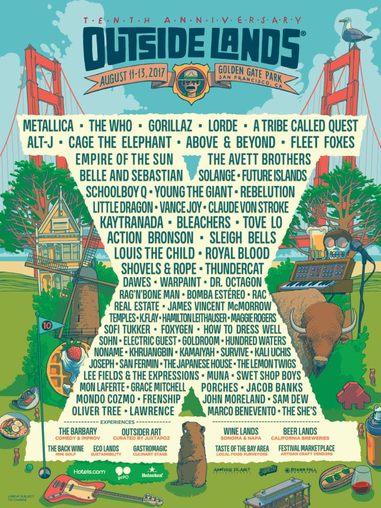 outside lands 2017 Outside Lands 2017 Festival Review: From Worst to Best