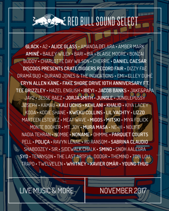 unnamed 18 Red Bull Sound Select announces 30 Days in Chicago