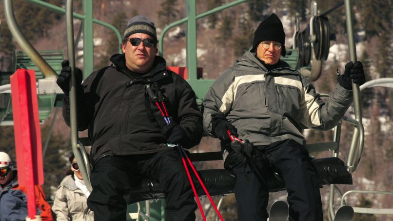 curb the ski lift Curb Your Enthusiasms Top 20 Episodes
