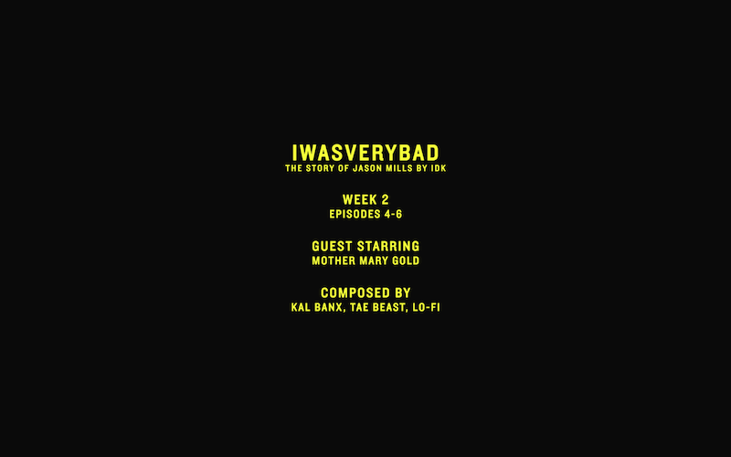 idk iwasverybad episodes 4 to 61 IDK details upcoming IWASVERYBAD soundtrack LP with Adult Swim, featuring DOOM, Swizz Beatz, Chief Keef, and more