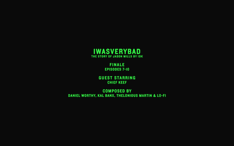 idk iwasverybad episodes 7 to 101 IDK details upcoming IWASVERYBAD soundtrack LP with Adult Swim, featuring DOOM, Swizz Beatz, Chief Keef, and more