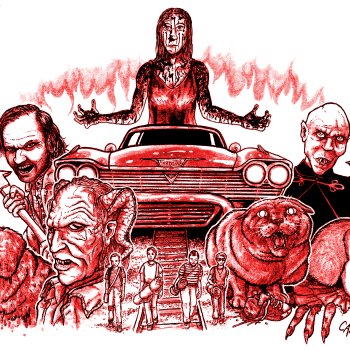 Stephen King Adaptations, artwork by Cap Blackard