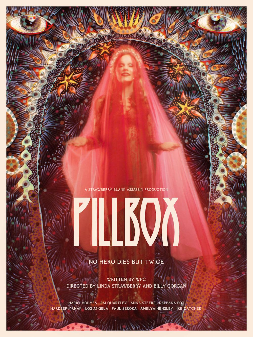 pillbox poster v2 Billy Corgan announces new film Pillbox, shares trailer: Watch