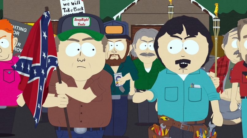 southparknewimage1 Recapping South Park: White People Renovating Houses Sledgehammers to the Heart of Hatred