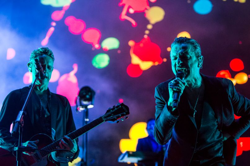 depeche mode 8 Live Review: Depeche Mode at the Hollywood Bowl (10/12)
