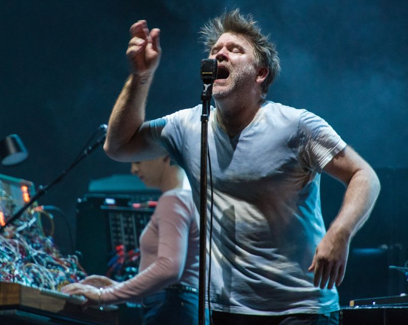 LCD Soundsystem // photo by David Brendan Hall