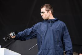 Liam Gallagher // Photo by Philip Cosores