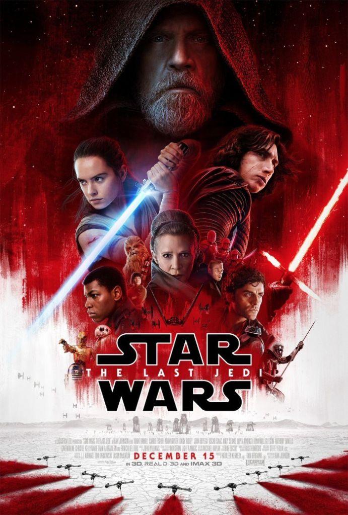 star wars the last jedi poster Luke Skywalker looks terrified in the official trailer for Star Wars: The Last Jedi: Watch