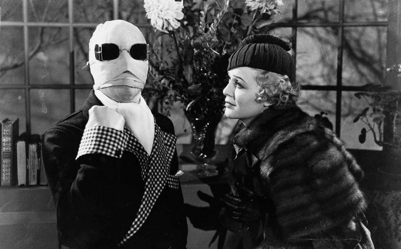 the invisible man The 100 Scariest Movies of All Time