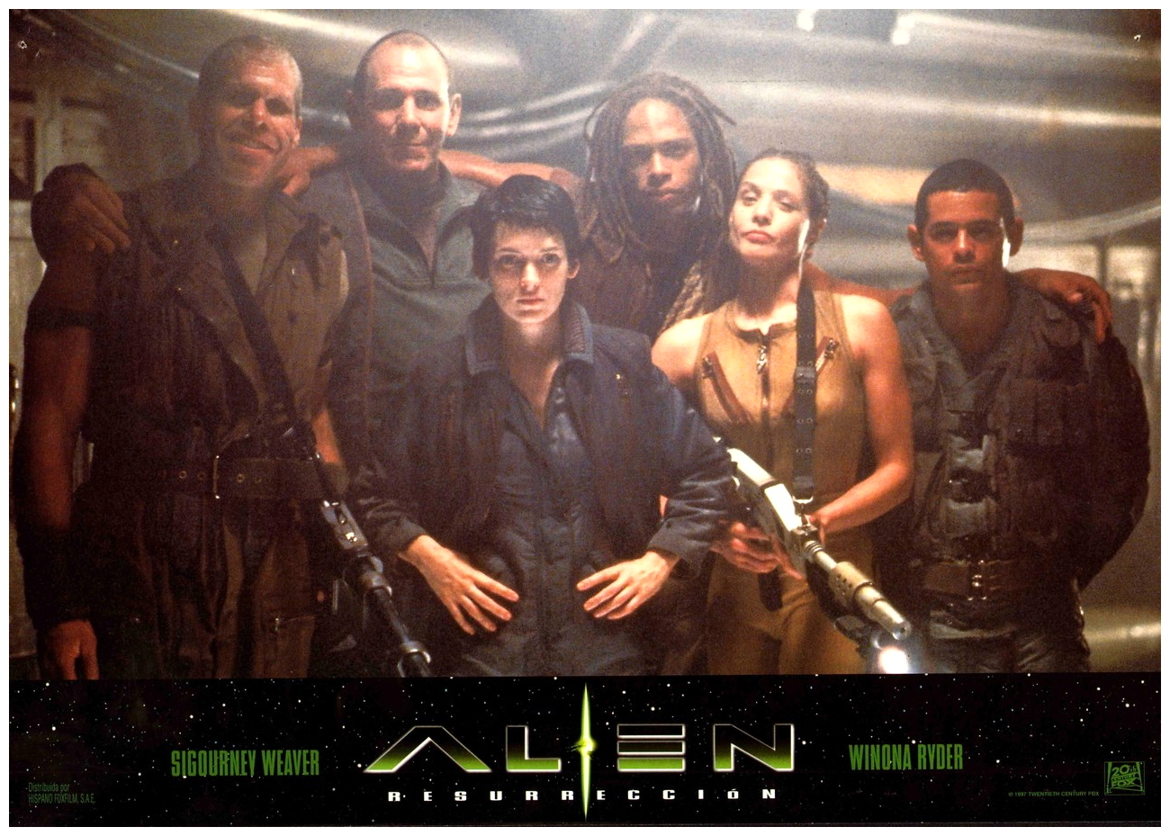 alien resurrection lobby card 3 Alien: Resurrection Set a New Low for Lazy Sequels