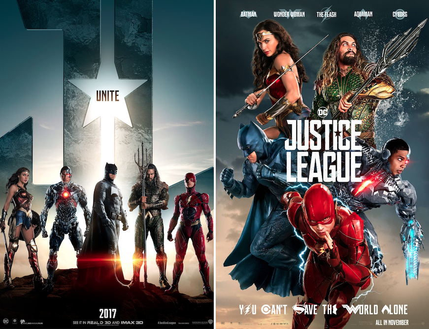 justice league posters Why Justice League Is the End of the DC Extended Universe as We Know It