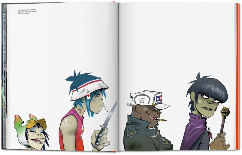va jamie hewlett image 02 04656 Gorillaz co founder Jamie Hewlett to release career spanning art book