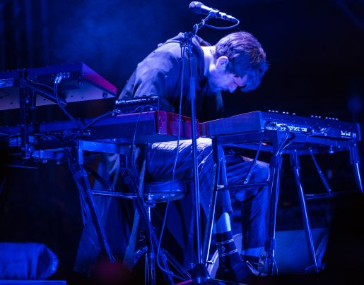 James Blake // photo by David Brendan Hall