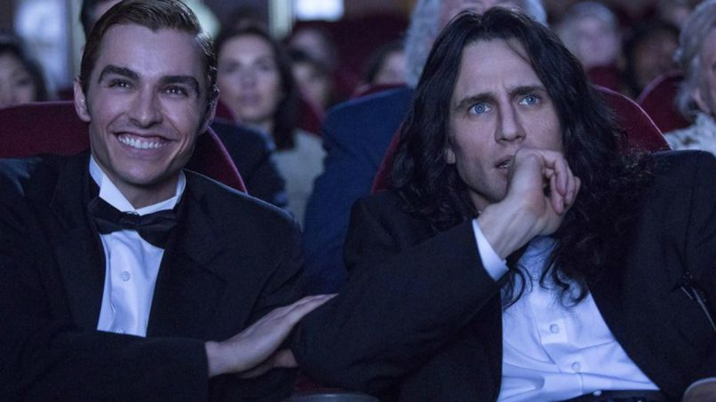 the disaster artist james franco dave franco Top 25 Movies of 2017