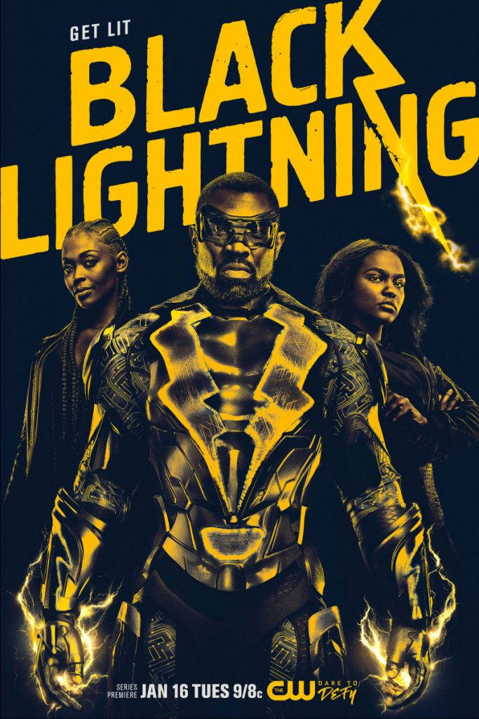 black lightning poster Black Lightning Offers a Strong Superhero Family for the Black Lives Matter Era