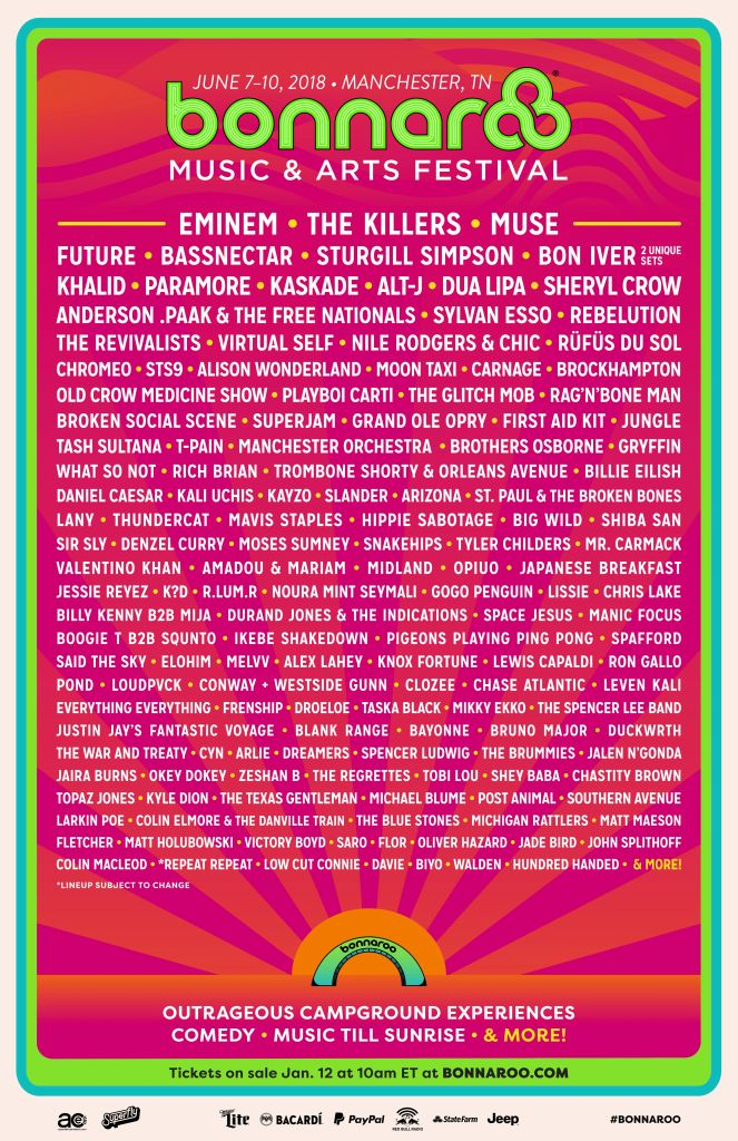 bonnaroo 2018 Bonnaroo 2018: A Once Great Festival in Search of an Identity